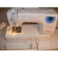 Quality Janome Memory Craft 6300 Computerized Sewing Machine w  Free! 9-Piece for sale