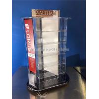 China Tabletop Rotating Acrylic Display Case , 3-Way Pocket Watch Display Case on sale