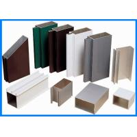 Quality Powder Coating Curtain Walls Extruded Aluminium Profiles for sale