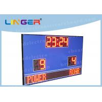 China Waterproof Cabinet With Wireless Controller Led Football Scoreboard for Outdoor Use on sale