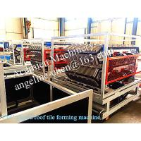 Quality New type popular roofing tile roofing sheet roofing material manufacturing machinery for sale