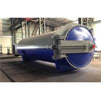 Quality Wood / Rubber / Food Vulcanizing Autoclave Equipment φ2m For Automotive Industrial for sale