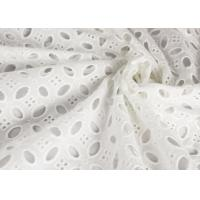 Buy Heavy Vintage Eyelet 100% Cotton Lace Fabric Wholesale By The Yard at wholesale prices