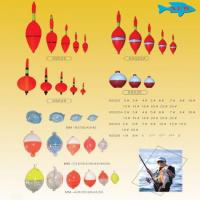 Fishing Floats/Fishing Bobber/Fishing Float Accessories 0.5g,0.8g,1g,1.2g,2g available material Paulownia /Balsa/PVC/EVA