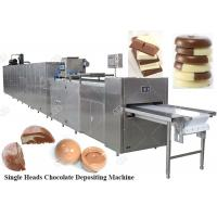 Quality Fully Automatic Chocolate Depositing Machine Moulding Production Line Price China for sale
