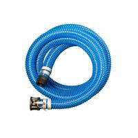 Quality PVC Helix Suction Hose , Suction And Discharge Hose Assembly With Connector for sale