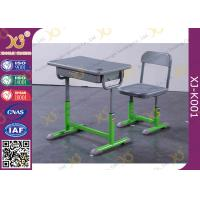 Quality Green Blow - Molded Plastic Education Classroom Table And Chair Customized Color for sale