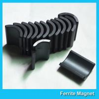 Buy Y30 Grade Ferite Arc Magnets For Motors Ferite Ceramic Motor Arc Magnets at wholesale prices