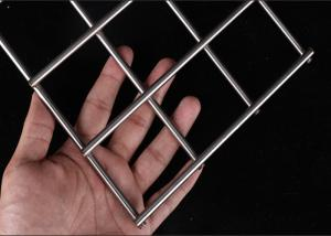 Quality Rust Proof 3mm 50x50mm Stainless Steel Welded Wire Mesh Panel for sale