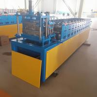 Buy cheap Stud and Track Roll Forming Machine 12 rows 4kw with 0.3-0.6mm raw material from wholesalers