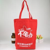 China Large Fashion 100% Cotton Recycled Canvas Bags / Washable Canvas Shopping Bags on sale