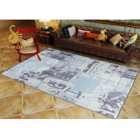 Quality Custom Eco-friendly Printed Indoor Area Rugs For Living Room SGS for sale