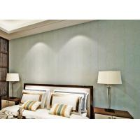 Quality Embossed Bedroom No Glue Self Adhesive Vinyl Wallpaper with Leaf Pattern , European Style for sale