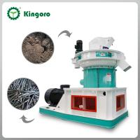 China Wood pellet production line for biomass fuel on sale