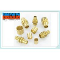 China Brass Lathe Precision Machined Parts / Turning Parts With 4-Axis Control on sale