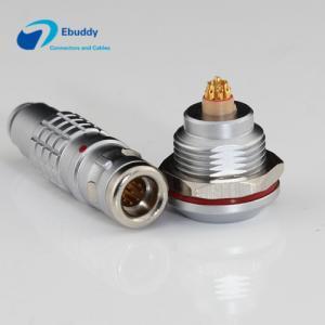 Lemo K Serials Waterproof Circular Connector IP68 0K / 1K / 2K 2 - 32pin Male And Female Connectors