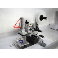 Quality Seimi Automatic Flat Label Applicator Flat Surface Bottle Label Applicator for sale