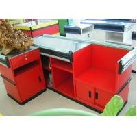 Quality Custom Cash Register Table Counter / Checkout Counters For Retail Stores for sale