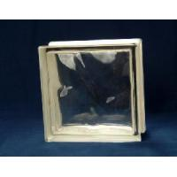 Quality Clear Ice Shadow Glass Block for sale