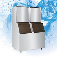 Quality RoHS Commercial Ice Maker Machine With Mocrocomputer Control Board for sale