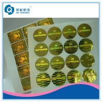 Quality Tamper Evident Custom Hologram Stickers for sale