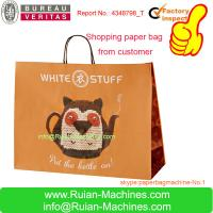 China paper bag making machine/paper bag machine /paper carry bag making machine on sale