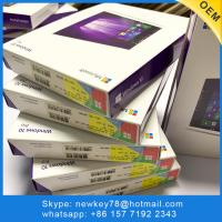 Quality English Windows 10 Pro OEM Key / Windows 10 Professional OEM Package With DVD for sale