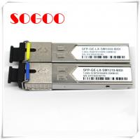 Quality 10G/1310nm SM Optical Module 1.4km SFP Optical Transceiver For Huawei ZTE for sale