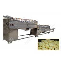 Quality Full Automatic Industrial Potato Washing And Peeling Machine Carrot Ginger Washer Peeler for sale