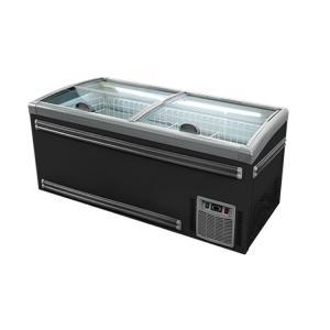 Quality Deep Combine Island Display Freezer For Supermarket Frozen Food for sale
