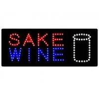 Quality Acrylic Sake Wine LED Sign Board for sale