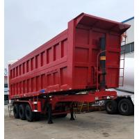 Quality HYUAN Mining Semi Dump Truck Trailer And U Type Rear Tipping 12R22.5 Tire for sale