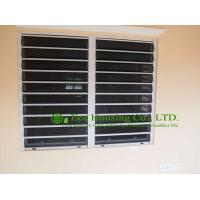 Aluminum Safe Glass Louvered windows with tinted glass, hurricane-proof Louvered windows