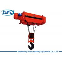 Quality 1 Ton - 50 Ton Electric Wire Rope Hoist With Overspeed Protection System for sale