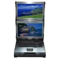 Quality IPC-2W15 15 Inch Industrial Workstation 2 Screen Requires Folding Vertically for sale