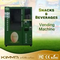 Quality Eggs / Warm Food / Noodles Fresh Food Vending Machine With Automatic Elevator for sale
