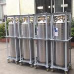 Quality 175L Cryogenic Liquid Storage Tank Xygen / Nitrogen / Argon Dewar Bottle for sale