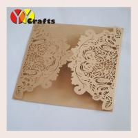 Quality wedding invitation card champagne gold 2015popular birthday card party invitation card paper card printing,greeting card for sale