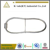 Buy rigging wire rope sling  stainles steel wire rope sling with ferrule and iron wire made in china at wholesale prices