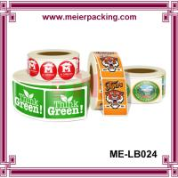 Quality Label Sticker China Supplier/Roll Labels & Stickers/Paper and vinyl/decal label printing  ME-LB024 for sale