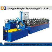 Buy cheap U Shape Stud Roll Forming Machine With Colored Steel Plate / 14 Groups Rollers for Mining from wholesalers