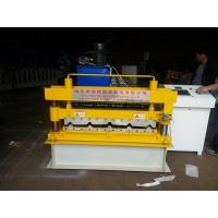 Quality Trapezoid IBR Tile Roof Panel Roll Forming Machine , Metal Roll Forming Machines for sale