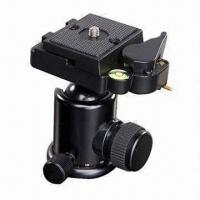 Quality KKS-series Ball Head, Made of Alloy Metal, Available in Black for sale