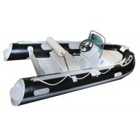 Quality Small Tender Inflatable Sail Boat 3.3 M , High Intensity Inflatable Fishing Raft for sale