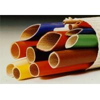 Quality Silicone Rubber Coated Fiberglass Sleeving -10ºC  +200ºC Continuous Operating Temperature for sale