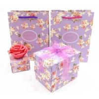 Quality candy paper bag gift box for sale