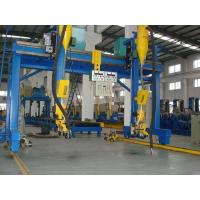 Quality China Dual Driving Automatic H Beam Welding Machine with Lincoln DC-1000 Welder SAW Welding Method in H Beam Line for sale