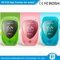 Quality hidden gps tracker sos panic button watch gps tracker for kids for sale