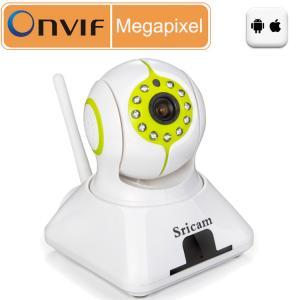 Quality Sricam SP006 720p mobile phone view onvif p2p cameras video for sale