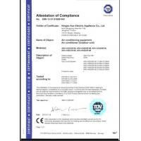 NINGBO AUX ELECTRIC CO., LTD. Certifications